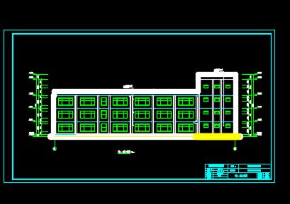 三层框架结构幼儿园毕业设计(含图纸、计算书)