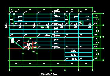 4000平米三层商场框架结构龙八娱乐网上娱乐(含计算书、图纸、表格)
