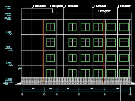 5400平米框架结构办公楼毕业设计(含开题报告、计算书、图纸)