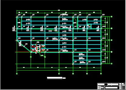 4000平米三层商场框架结构毕业设计(含图纸、计算书、计算表格)