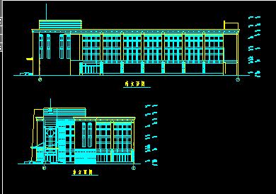 2677.9平米三层框架办公楼毕业设计(含图纸、进度图、网络图)