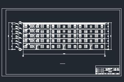 五层框架商住楼工程量计算(含图纸)