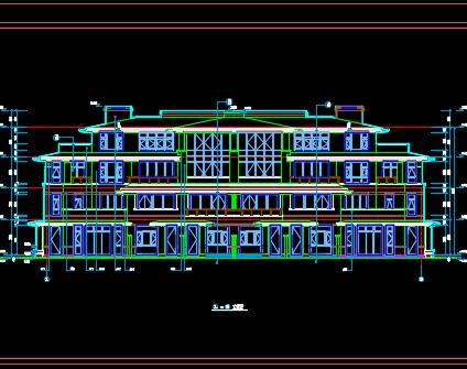 某四层住宅楼毕业设计(含图纸、工程量计算、投标文件)