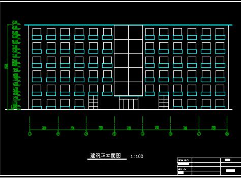 6层框架办公楼全套毕业设计(含计算书、图纸、工程量计算)