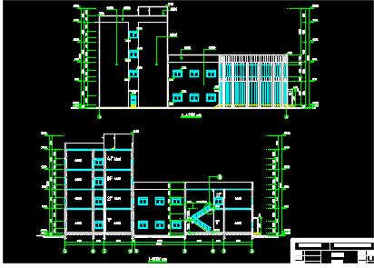 四层框架结构办公楼建筑结构毕业设计(含建筑结构图纸)