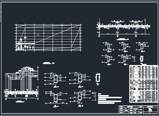 框架结构厂房课程设计(含图纸)