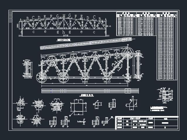 梯形钢屋架厂房毕业设计(含图纸)