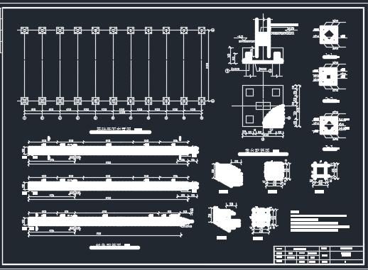 单层单跨排架结构厂房地基基础课程设计(含图纸)
