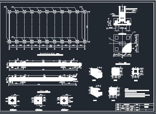 单跨排架结构厂房毕业设计(含图纸)