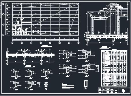 框架结构厂房毕业设计(含任务书、图纸)