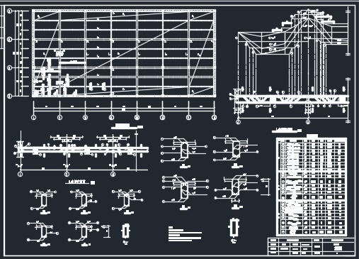 框架结构多层工业厂房毕业设计(含图纸)