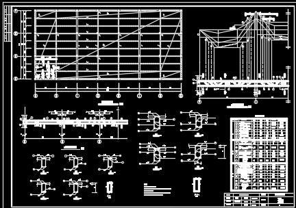 框架结构厂房毕业设计