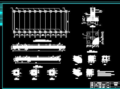单层单跨排架结构厂房课程设计(含图纸)