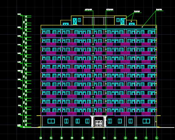 某宿舍楼建筑结构毕业设计