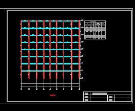高层钢结构住宅楼毕业设计计算书及图纸