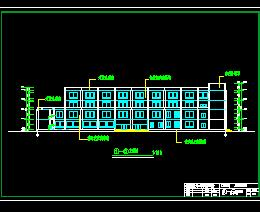 4层图书馆结构毕业设计计算书及图纸