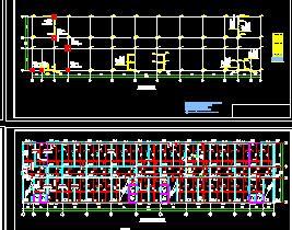 9层框剪综合楼结构、施工全套毕业设计(计算、施组、图纸及计价)