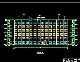 6层框架结构宾馆毕业设计计算书及图纸