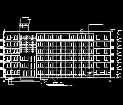 框架教学楼结构毕业设计计算书及图纸