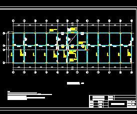 4层框架办公楼结构毕业设计(含计算、图纸及施组)