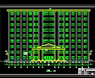 办公楼结构毕业设计计算书及图纸