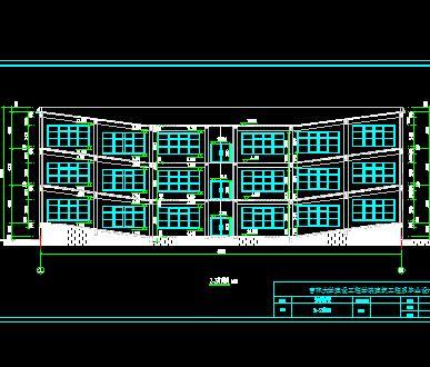 四层框架教学楼毕业设计计算书及图纸(含ppt)