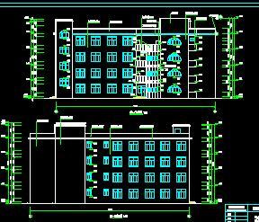 四层活动中心科技楼毕业设计计算书及图纸