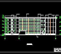 六层框架结构教学楼毕业设计(计算、图纸及任务书