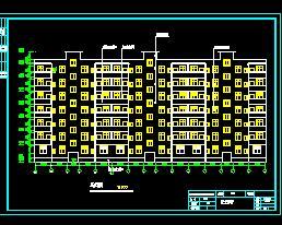 框架结构住宅楼结构毕业设计计算书及图纸