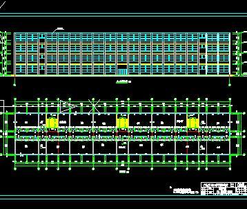 四层框架教学楼全套毕业设计(计算图纸模型表格)