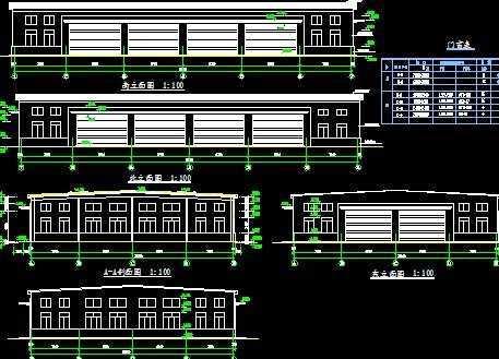 钢结构厂房施工图纸