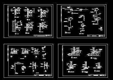建筑结构图集_钢结构建筑构造图集免费下载 - 厂房结构 - 土木工程网
