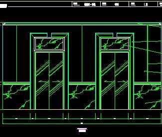 电梯立面图免费下载 - 钢结构 - 土木工程网