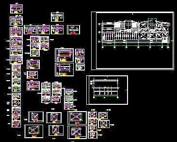某主厂房钢结构平台及20t吊车梁施工图