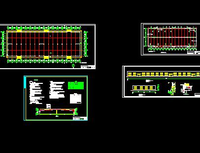 钢结构厂房设计图