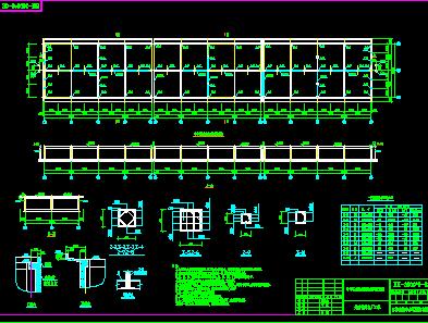 电厂冷却塔设计图纸