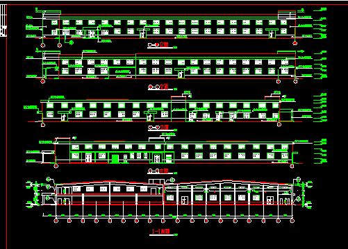 某轻钢厂房建筑施工图