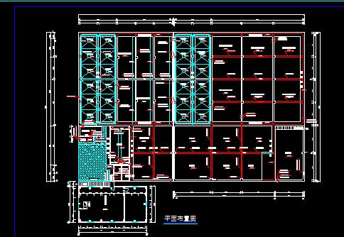 某皮革厂污水处理建筑施工图