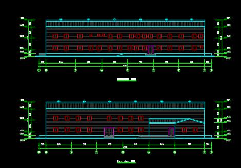 钢结构厂房建筑施工图纸