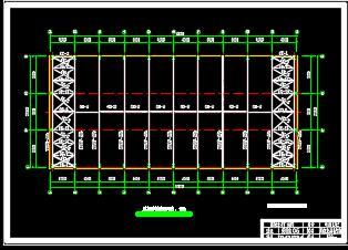 厂房结构施工图纸