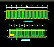 钢结构厂房结构施工图纸(含报价)