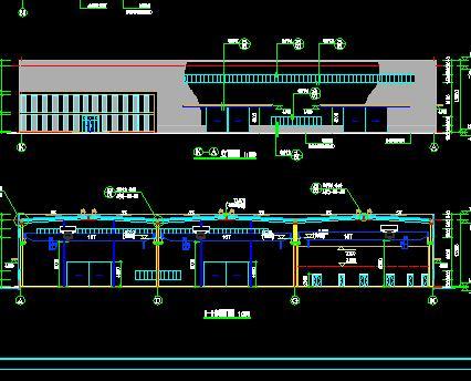单层门式刚架厂房建筑结构施