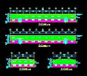 钢结构厂房建筑结构施工图纸