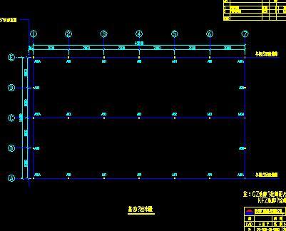 钢结构厂房结构施工图纸(含材料表)