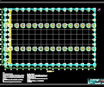单层钢结构厂房结构施工图纸(带天车)