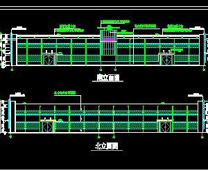 框架及排架柱�Y���S房全套施工�D�(全��I)
