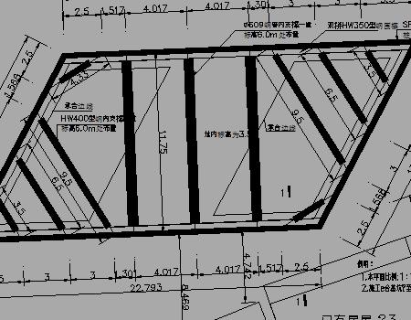 市政桥梁深基坑U型钢板桩加钢管支撑支护优乐娱乐图