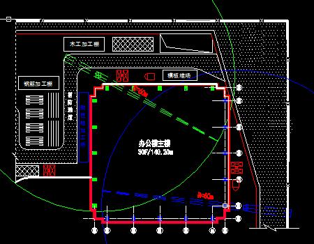 高层办公楼工程劲性柱安装施工图