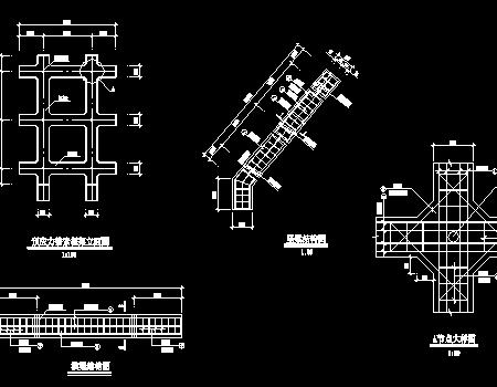 锚索框架边坡支护结构图