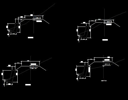 重力式挡土墙设计图
